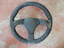 Volante del coche de deportes Imagen de archivo libre de regalías