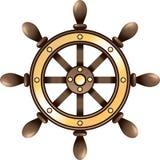 Volante della nave illustrazione vettoriale