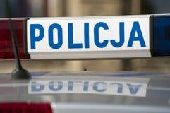 Volante della polizia. Fotografie Stock