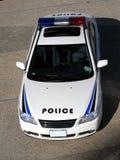 Volante della polizia Fotografia Stock