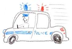 Volante della polizia Immagine Stock Libera da Diritti