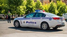 Volante della polizia australiano del sud fotografia stock libera da diritti