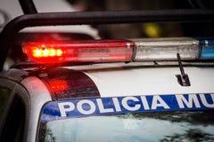 Volante della polizia di emergenza immagine stock libera da diritti