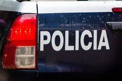 Volante della polizia di emergenza fotografie stock libere da diritti