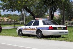 Volante della polizia di Lauderhill, Florida Fotografia Stock Libera da Diritti