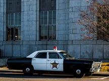 Volante della polizia di Mayberry Fotografie Stock Libere da Diritti