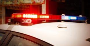 Volante della polizia a Montreal, Quebec, Canada Fotografia Stock