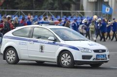 Volante della polizia russo Immagini Stock Libere da Diritti