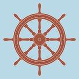 Volante nautico Fotografia Stock Libera da Diritti