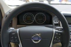 Volante de Volvo Imagenes de archivo