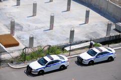 Volanti della polizia, Terrebonne, Quebec, Canada immagini stock