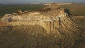 Volar un abejón sobre la montaña Sherkala Puesta del sol 2 metrajes
