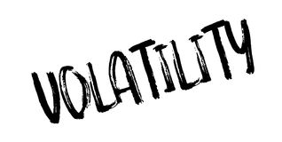 Volatility rubber stamp Royalty Free Stock Photo