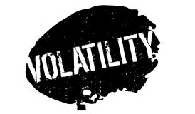 Volatility rubber stamp Royalty Free Stock Photography