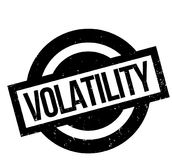 Volatility rubber stamp Royalty Free Stock Image