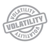 Volatility rubber stamp Royalty Free Stock Images