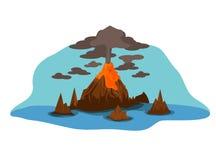 volcán fotografía de archivo libre de regalías