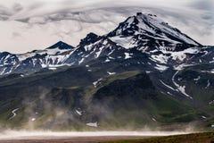 volcán Foto de archivo libre de regalías