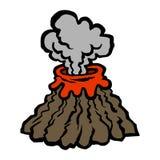 volcán Foto de archivo