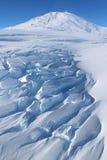 Volcán antártico Fotografía de archivo libre de regalías