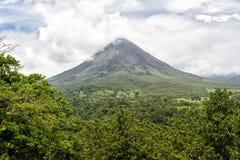 Volcán Arenal Fotografía de archivo libre de regalías