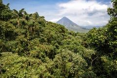Volcán Arenal Imagen de archivo