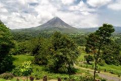 Volcán Arenal Fotos de archivo