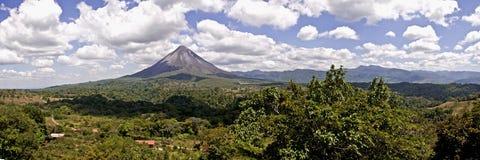 Volcán de Arenal, Costa Rica fotografía de archivo