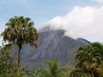 Volcán de Arenal en Costa Rica Fotografía de archivo