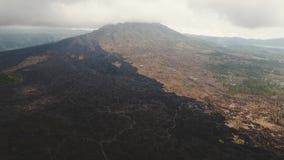 Volcán de Batur, Bali, Indonesia metrajes