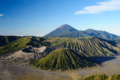 Volcán de Bromo del montaje en East Java Imagen de archivo