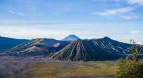 Volcán de Bromo del soporte, Indonesia Fotos de archivo