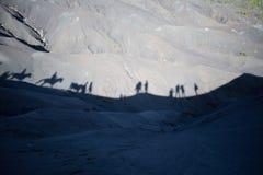 Volcán de Bromo del soporte, Indonesia Imagenes de archivo