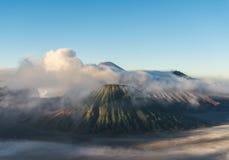 Volcán de Bromo, parque nacional de Tengger Semeru, Java Oriental, Indones Imágenes de archivo libres de regalías