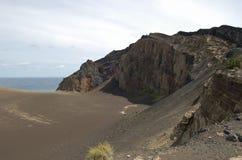 Volcán de Capelinhos Foto de archivo