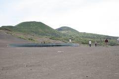 Volcán de Capelinhos Imagen de archivo libre de regalías