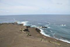 Volcán de Capelinhos Foto de archivo libre de regalías