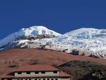 Volcán de Cotopaxi Fotos de archivo libres de regalías