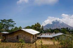 Volcán de Flores Foto de archivo libre de regalías