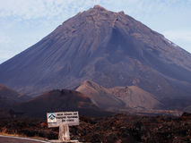 Volcán 3 de Fogo Fotos de archivo