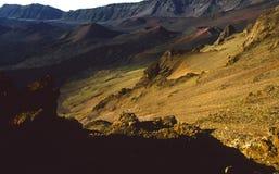 Volcán de Haleakala Foto de archivo