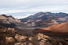Volcán de Haleakala Imagen de archivo libre de regalías