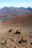 Volcán de Haleakala Fotos de archivo