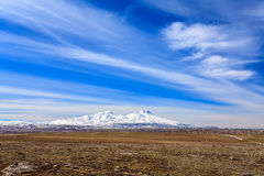 Volcán de Hasandag Turquía Fotos de archivo