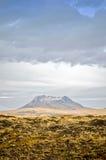 Volcán de Islandia Imagen de archivo libre de regalías