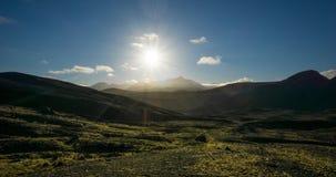 Volcán de Islandia metrajes