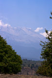 Volcán de Iztaccihuatl Foto de archivo