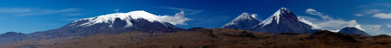 Volcán de Kamchatka fotos de archivo