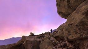 Volcán de Kawah Ijen Fotografía de archivo