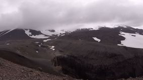 Volcán de la cascada y de Mutnovsky metrajes